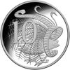 10076 Reverse of 10 cent proof coin 2019 fiftieth anniversary of the moon landing Six Coin proof year set