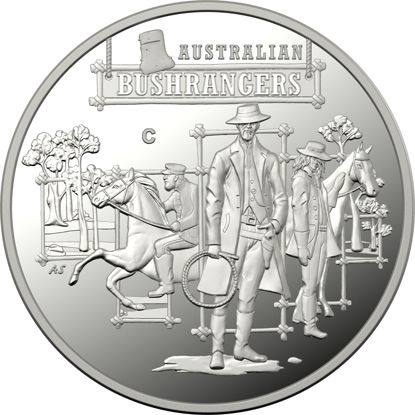 10101 Reverse of the 2019 $1 Fine Silver Proof The Bold the bad and the ugly Coin