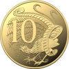 10109 Reverse of the 2019 Gold Proof Year Set ten cent coin
