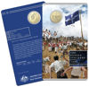 10188 Packaging of the 2019 one dollar uncirculated Mutiny and Rebellion Eureka Stockade Coin