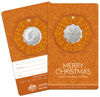 10230 Orange Packaging of the 2019 50c twelve days of christmas Uncirculated Coin