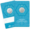 10230 Blue Packaging of the 2019 50c twelve days of christmas Uncirculated Coin