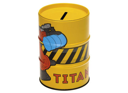 70032 Titan Money Box - Yellow