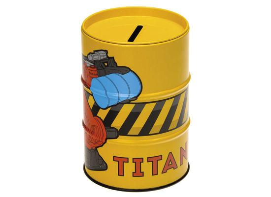 70032 Titan Money Box - Yellow