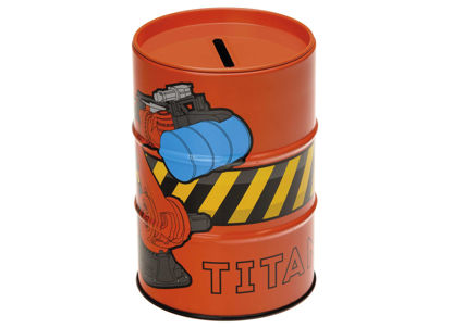 70033 Titan Money Box - Orange