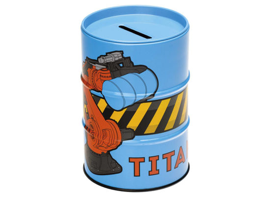 Titan Money Box - Blue