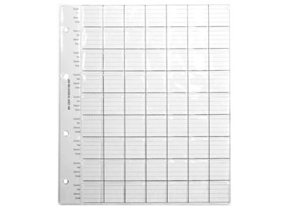 7610530 Coin Album Spare Pages - Size 2
