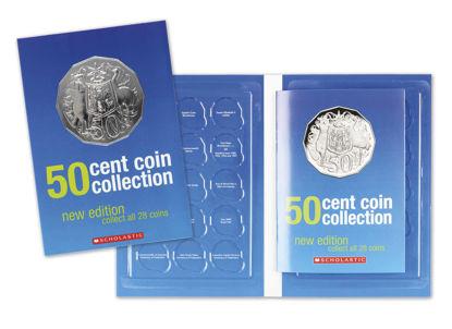 70026 50c Coin Collection Album