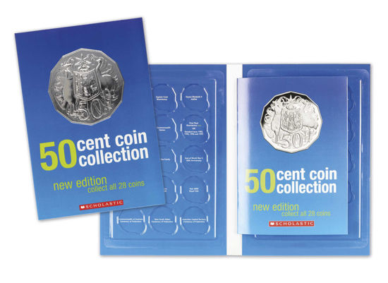 70026 50c Coin Collection Album
