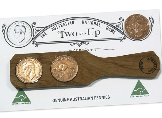 9999549 The Australian National Game Two-Up Set