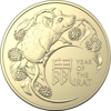 2020 Lunar Year of the Rat obverse