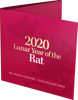 2020 50c Year of the Rat Tetra-Decagon Coin - Packaging