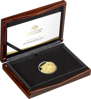 2020 $100 Year of the Rat Gold Domed Coin - Case