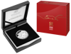 2020 $5 Year of the Rat Fine Silver Proof Domed Coin - Packaging