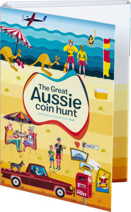 710158 Great Aussie Coin Hunt  - Collection Folder with Coins - Folder