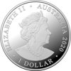 10344 Obverse of 1 dollar - Kangaroos at Dawn - 2020 $1 1/2oz Fine Silver Proof Coin