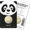 10458 Packaging of the Beijing International Coin Exposition Special Release 2019 $1 Panda Privy Mark Uncirculated Coin