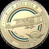 10245 Reverse of $1 - Qantas Centenary 2020 $1 Coloured Uncirculated Eleven-Coin Collection