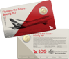 10245 Card - Qantas Centenary 2020 $1 Coloured Uncirculated Eleven-Coin Collection