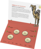 10287 Packaging of the 2020 4 coin Mintmark and Privy Mark set Eureka! Australia's Gold Rush