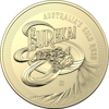 10287 Reverse of the 2020 $1 B Mintmark Eureka! Australia's Gold Rush Coin
