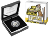 10286 Packaging of the 2020 $1 Silver Selectivly Gold Plated 'C' Mintmark Proof Eureka! Austraila's Gold Rush Coin