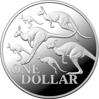 10180 Reverse of the 2020 Kangaroo Series - Red Kangaroo