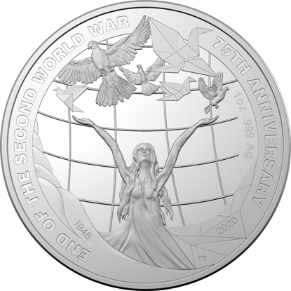 2020 Reverse of the 75th Anniversary of the End of WWII