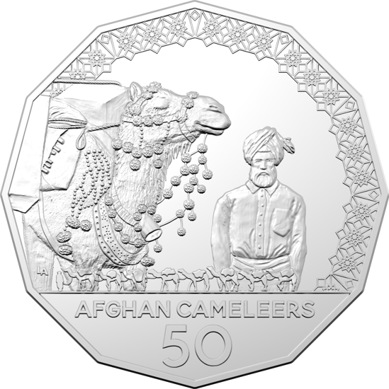 COIN PACK 50CENT UNC 2020 THE AFGHAN CAMELEERS | RAM eShop