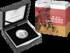 Packaging of 10282 2020 50c Afghan Cameleers Silver Proof Coin