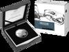 Packaging of 10377 2020 $5 Silver Tasmainian Devil Proof Coin