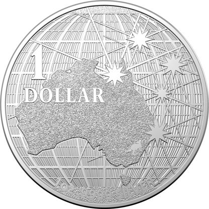 10297 2020 $1 1oz Silver Investment Coin Beneath The Southern Skies