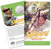2020 50c Coloured Unc Skippy the Bush Kangaroo packaging