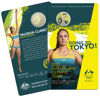 Packaging of 10396 2020 $1 Australian Olympic Team Ambassador Coloured Frunc Coin