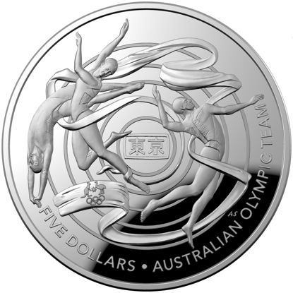 2020 $5 1oz Fine Silver Proof Domed Coin Reverse Concave