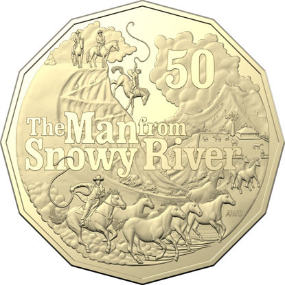10592 2020-50c-Uncirculated-Banjo-Patterson-Man-From-Snowy-River_Coin_REV