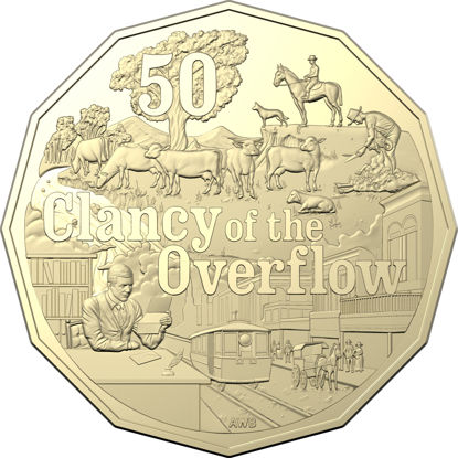10593 2020-50c-Uncirculated-Banjo-Patterson-Clancy-of-the-Overflow_Coin_REV