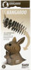 3D Cardboard Model Kit - Kangaroo Animal Model Packaging