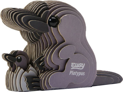 3D Cardboard Model Kit - Platypus Animal Model