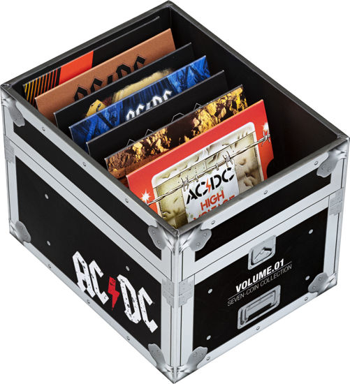AC/DC Seven Coin Collection Packaging