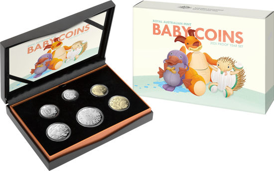 2021 Baby Coins Proof Packaging