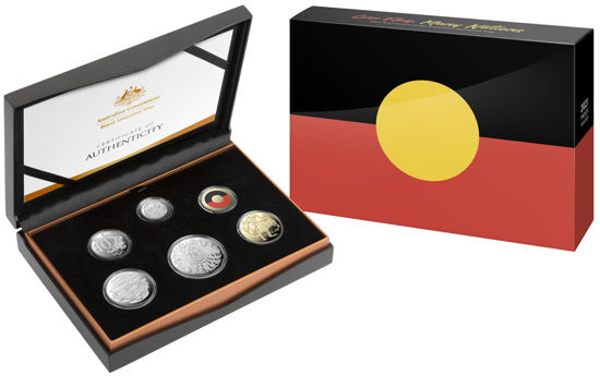 2021 Six Coin Proof Year Set packaging