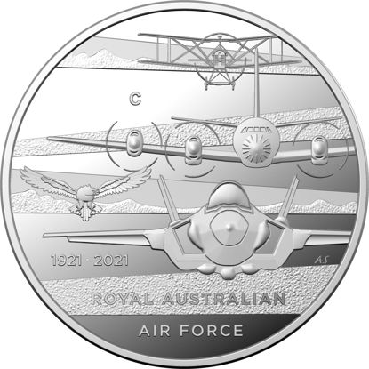 2021 $1 'C' Mintmark Heroes of the Sky Fine Silver Proof Coin