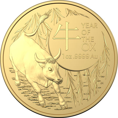 2021 $100 Gold Investment Year of the Ox