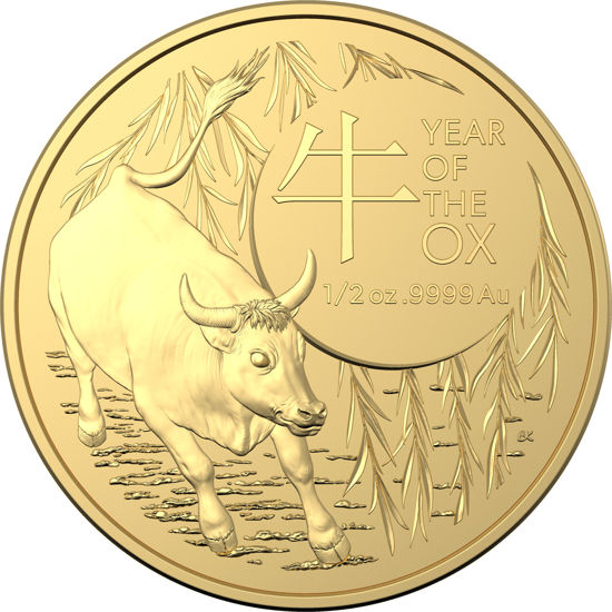 2021 $50 Gold Investment Year of the Ox