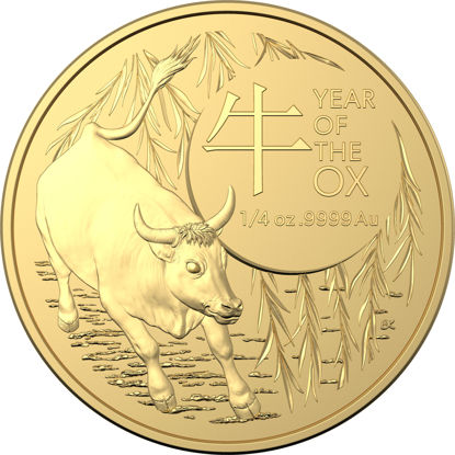 2021 $25 Gold Investment Year of the Ox