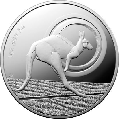2021 $1 1oz Fine Silver Proof Outback Majesty