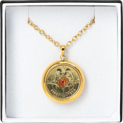 2020 $2 Firefighter Pendant